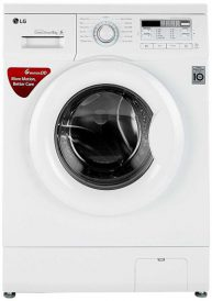 Best washing machine in India 2018 - LG 6 kg Fully-Automatic Front Loading Washing Machine (FH0B8NDL22, Blue White)