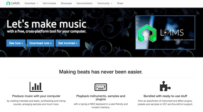 LMMS Best Free Beat Making Software