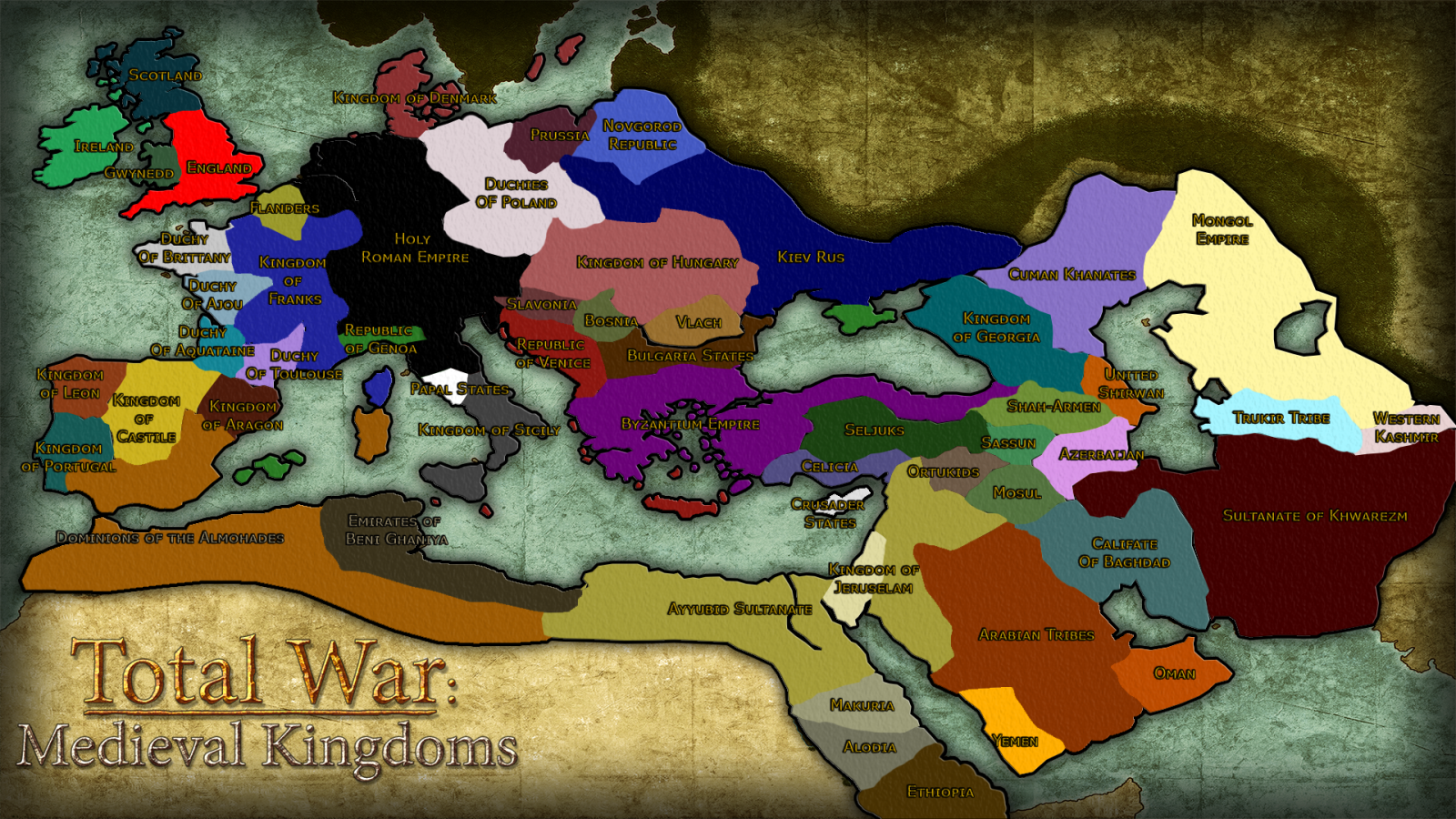 Best Total War Games List for Windows, MAC or Linux OS